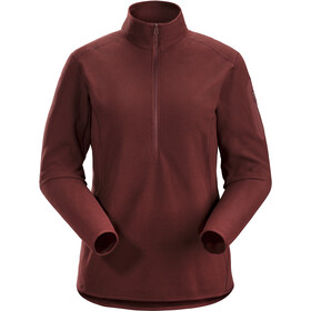 Arc'teryx Delta LT Maglietta baselayer con zip Donna, flux